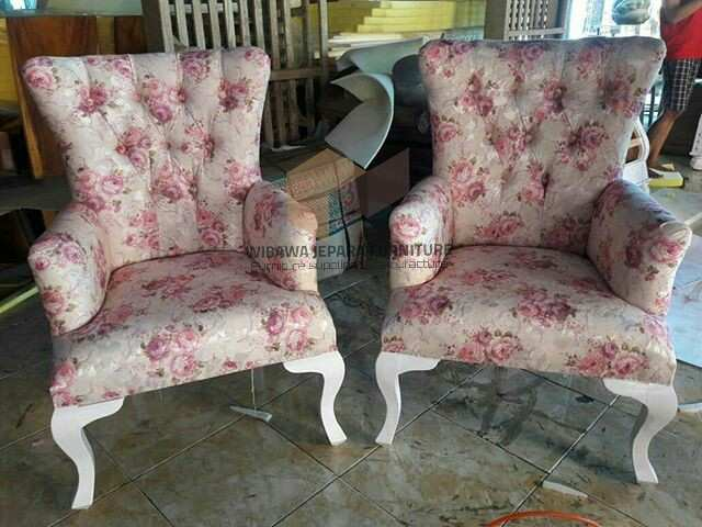 set sofa shabby chic