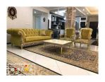 Set Kursi Sofa Tamu Chesterfield Ukir Series