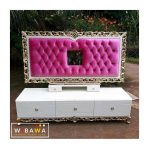 Rak Tv Meja Tv Buffet tv Gantung Shabby chic Ukir