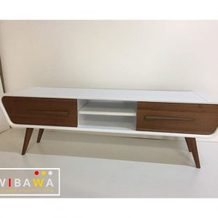 Buffet Tv Rak TV Vintage Retro Scandivian Modern
