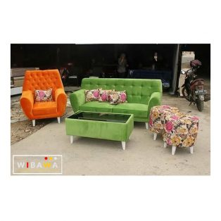 Kursi Sofa Modern Full Jok Rose