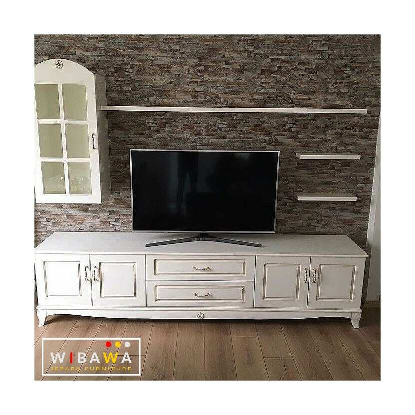 Meja Tv Buffet Tv Minimalis Shabby chic