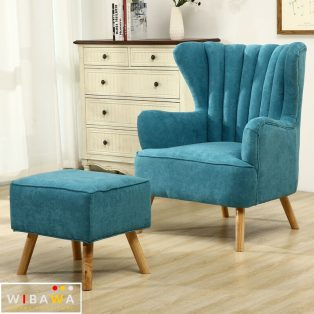Set Kursi Sofa Malas Santai Full Jok Wing Chair