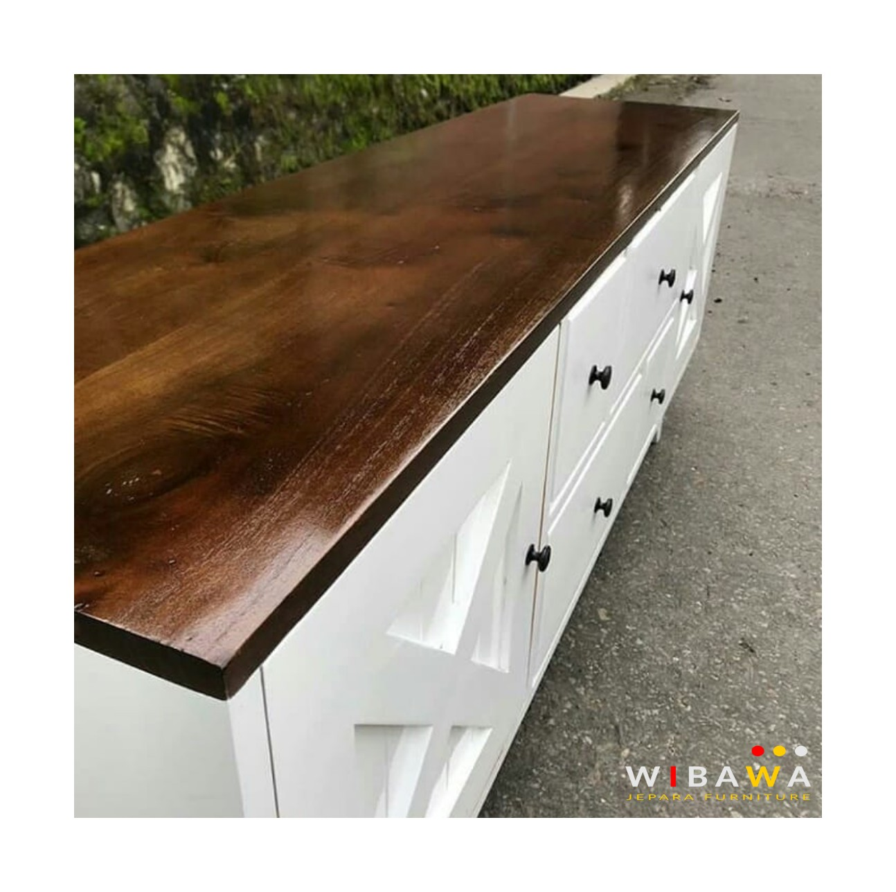 detail Buffet Tv Meja TV Nakas Drawer Serbaguna Model Retro,meja tv kayu,rak tv kayu murah,rak tv minimalis olympic,harga rak tv kayu murah,meja tv minimalis modern informa,harga meja tv kecil,model rak tv minimalis