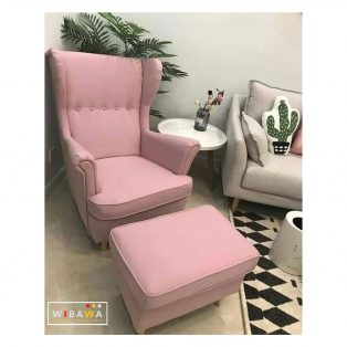 Set Kursi Sofa Santai Wing Chair