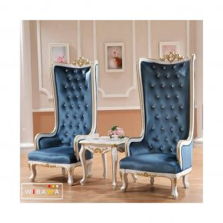 Set Sofa Santai Wing Chair