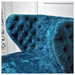 Sofa Santai Armschair Biru Single Seater