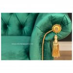 Sofa 2 Seater Loveseat Greeny Queen